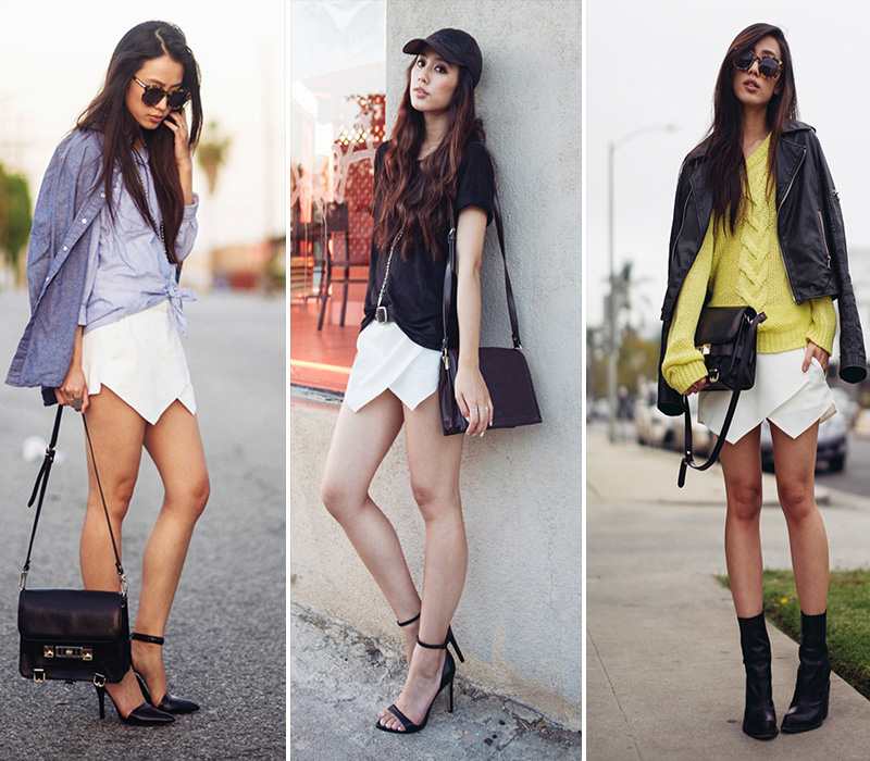 neon blush blog, neon blush style, zara skort