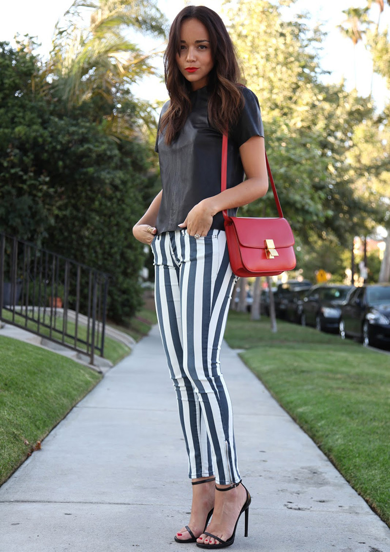 stripes, Ashley Madekwe style