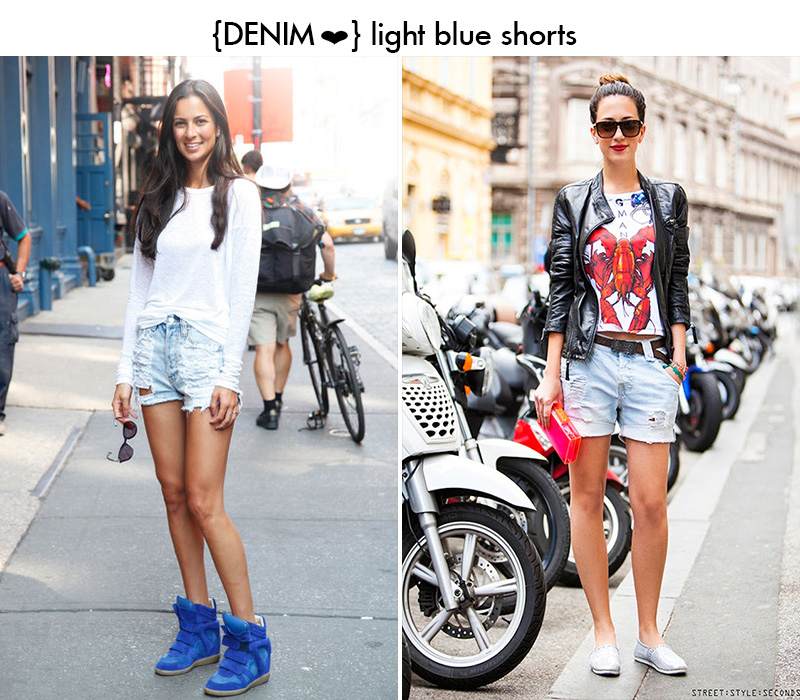 deni, denim shorts, street style seconds, isabel marant sneakers
