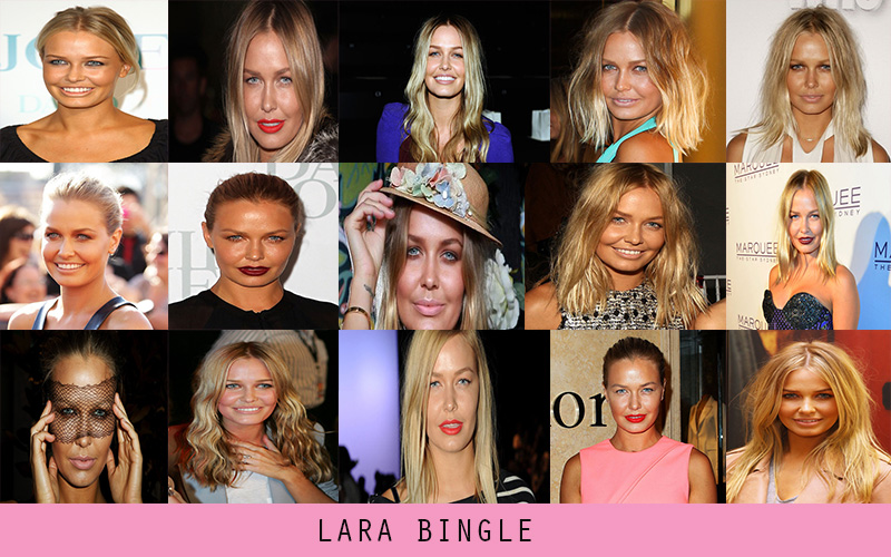 Lara bingle, lara bingle style, lara bingle fashion icon, lara bingle makeup