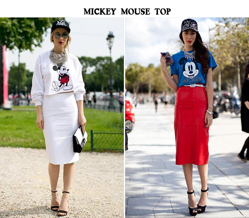 mickey mouse top, diana enciu style , alina tanasa style, fabulous muses