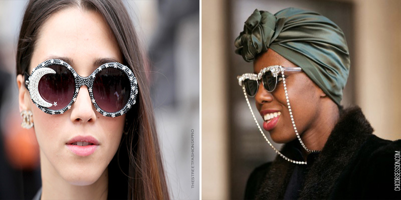 embellished sunglasses, statement sunglasses