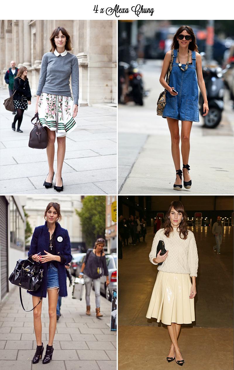 alexa chung style, alexa chung street style