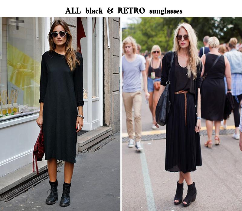 giorgia tordini style, black street style