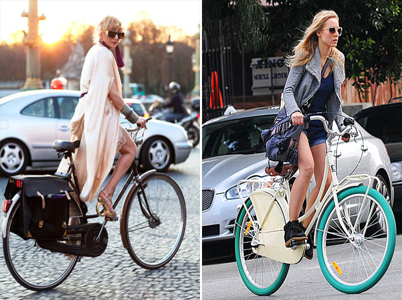 cycle chic, bicycle fashion, bicycle street style