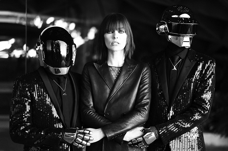 cr fashion book editorial, daft punk milla jovovich, milla jovovich cr (6)