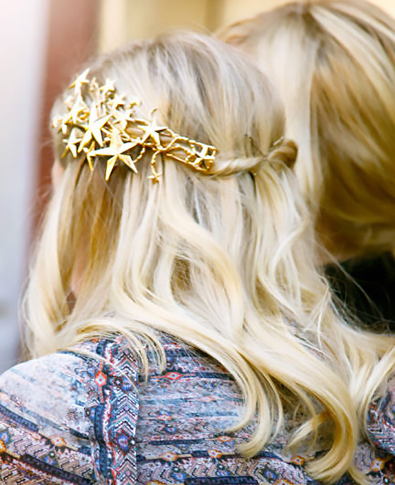 rodarte hair clip, hair accessories
