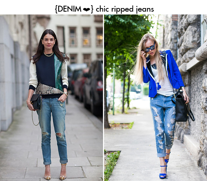 denim || RIPPED & COMFY BOYFRIEND JEANS