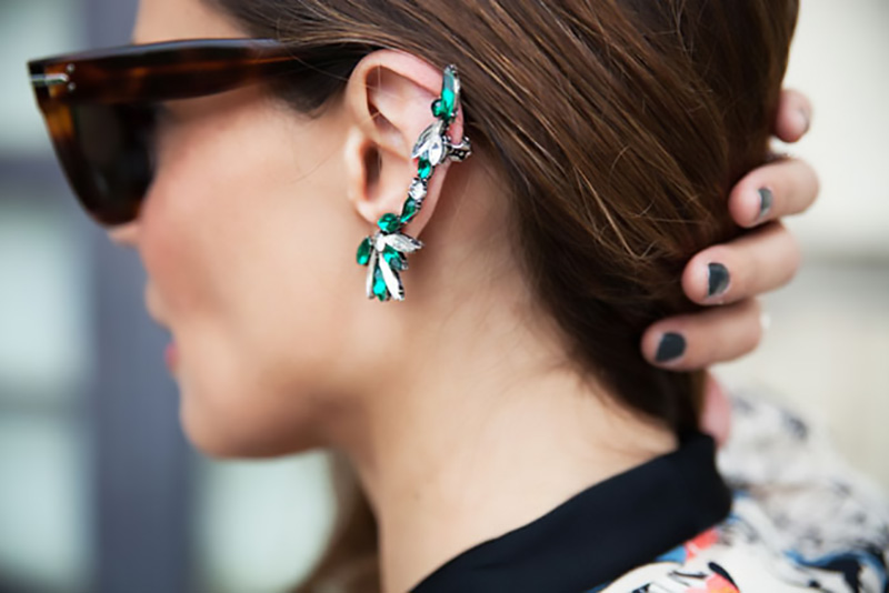 ear cuff trend, ear cuffs, ear cuff style, ear cuff inspiration (20)