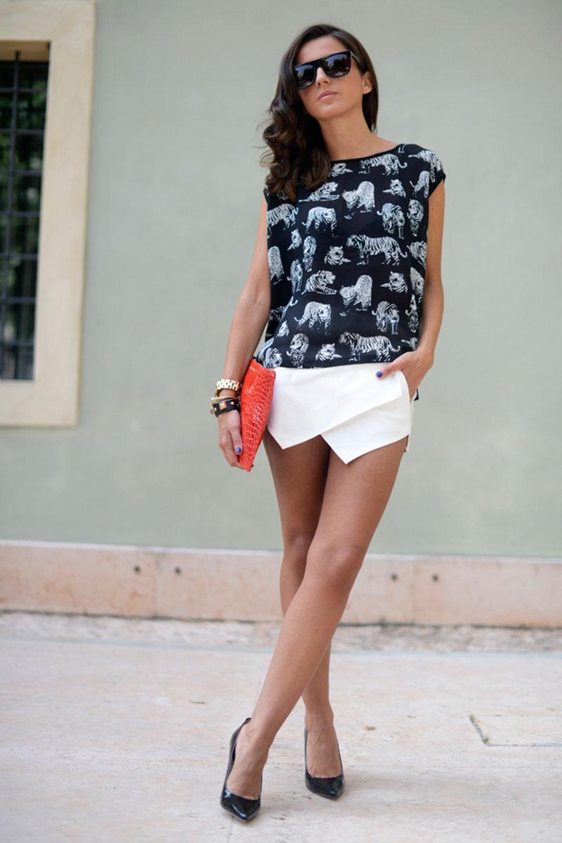 lovely pepa style, zara skort inspiration