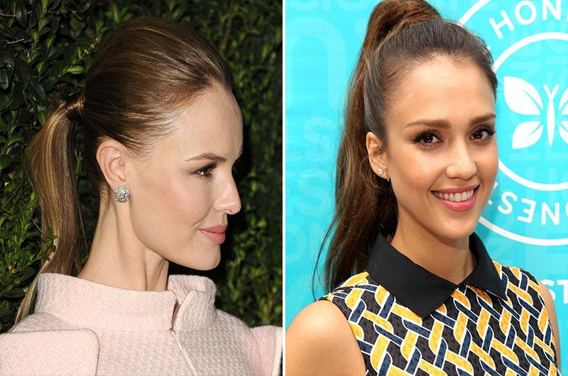 ponytails fashion, ponytails style, ponytails hairstyles (18)