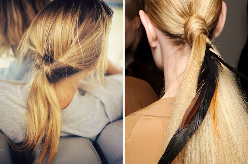ponytails fashion, ponytails style, ponytails hairstyles (7)