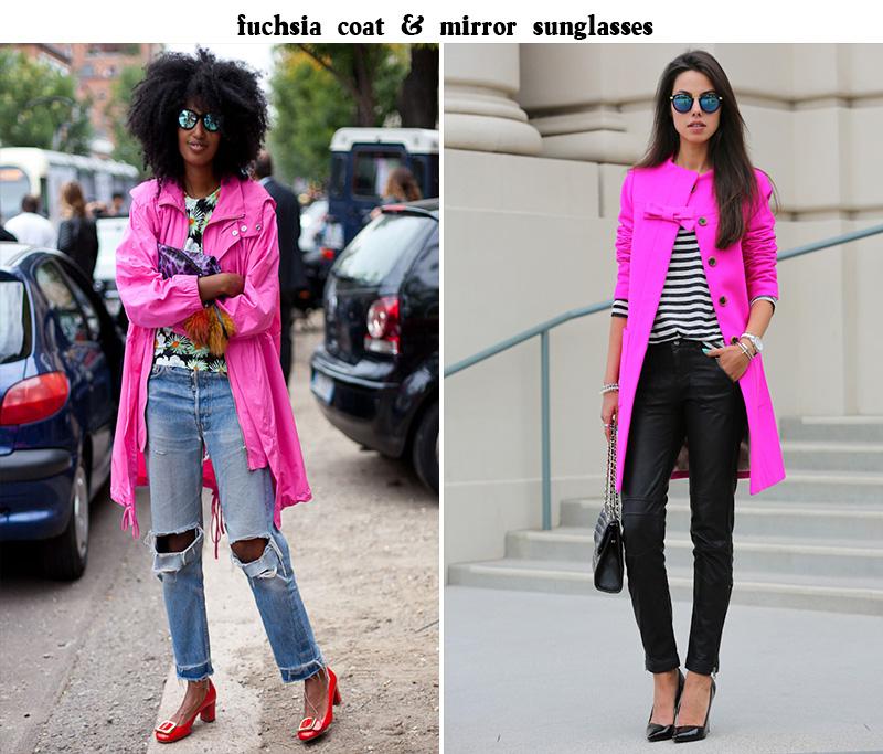 anabelle fluer style, julia sarr jamois style, julia sarr jamois, fuchsia coat