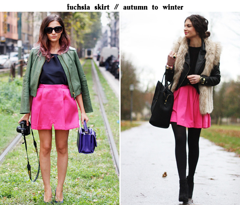 fuchsia skirt, eleonora carisi, eleonora carisi style, fashion hippie loves, fashion hippie loves style