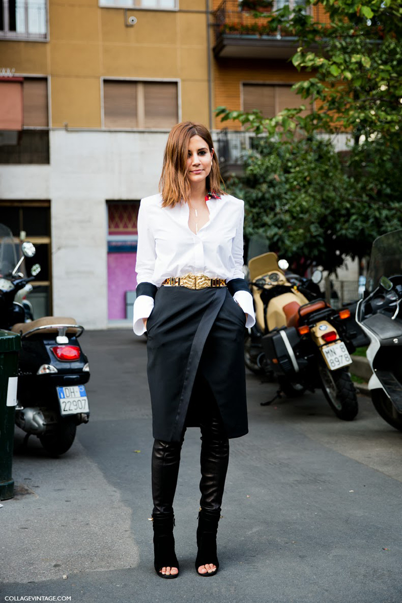 to wear - Milan chic street style video