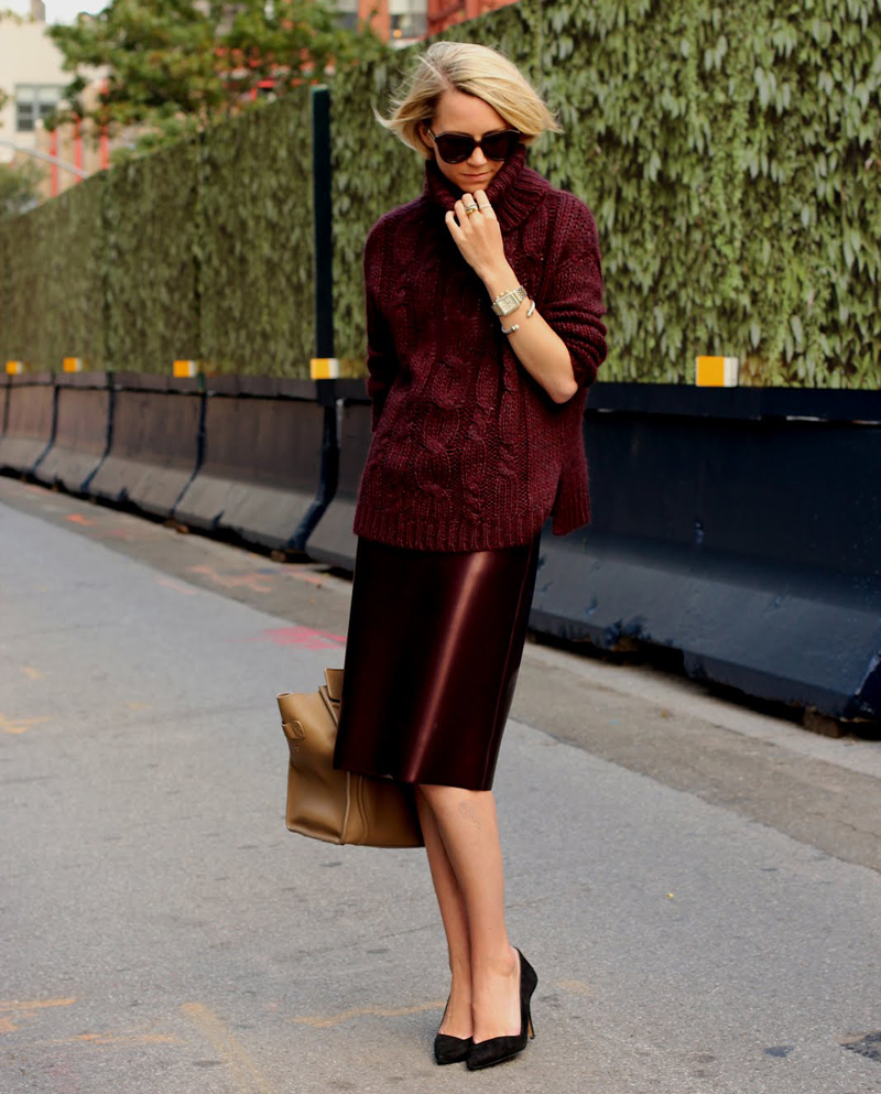burgundy trend, burgundy outfits, burgundy fashion, burgundy inspiration (22)