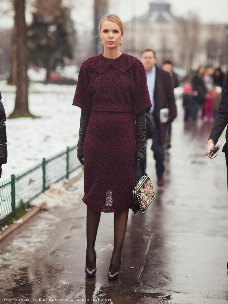 burgundy trend, burgundy outfits, burgundy fashion, burgundy inspiration (11)