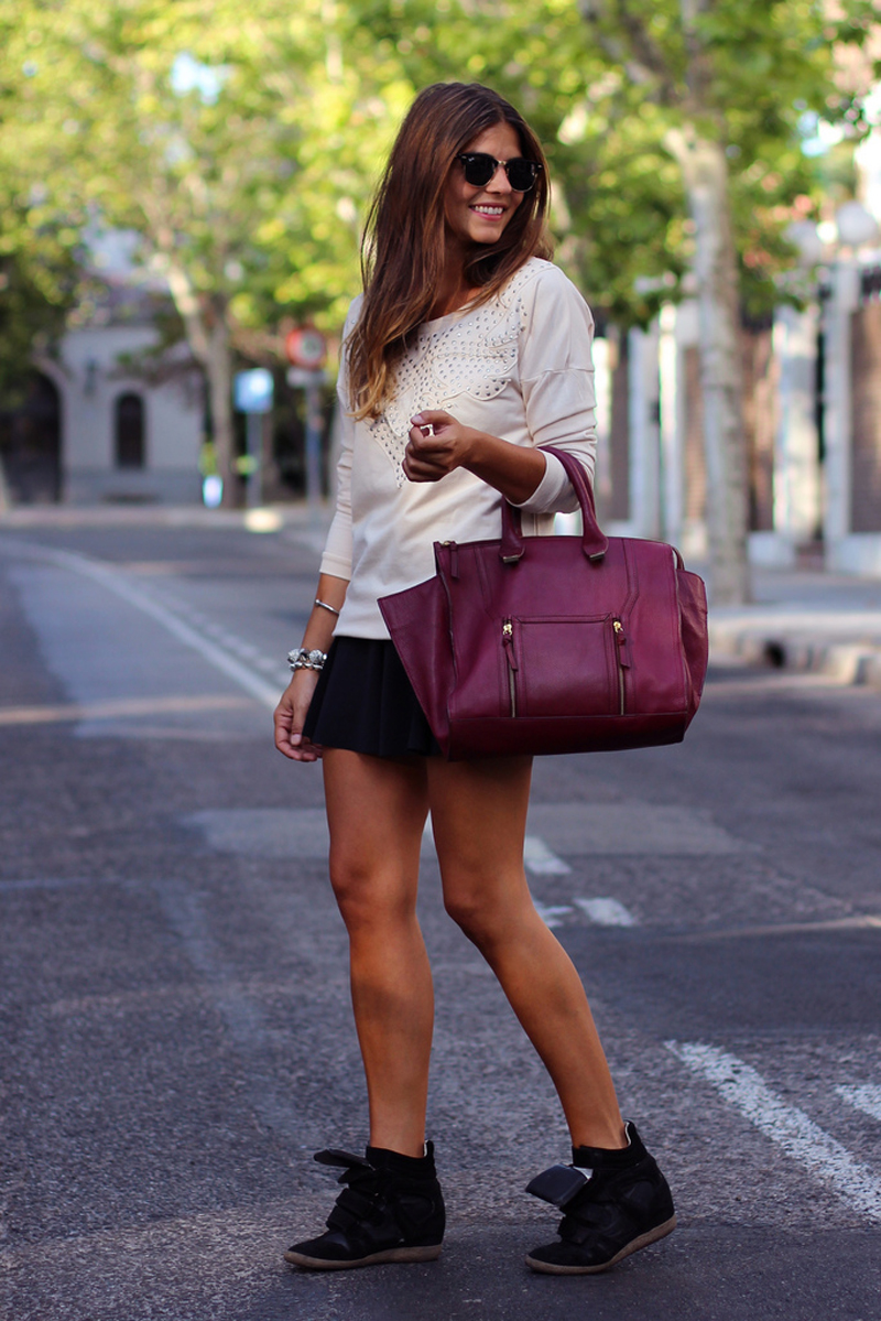 burgundy trend, burgundy outfits, burgundy fashion, burgundy inspiration (9)