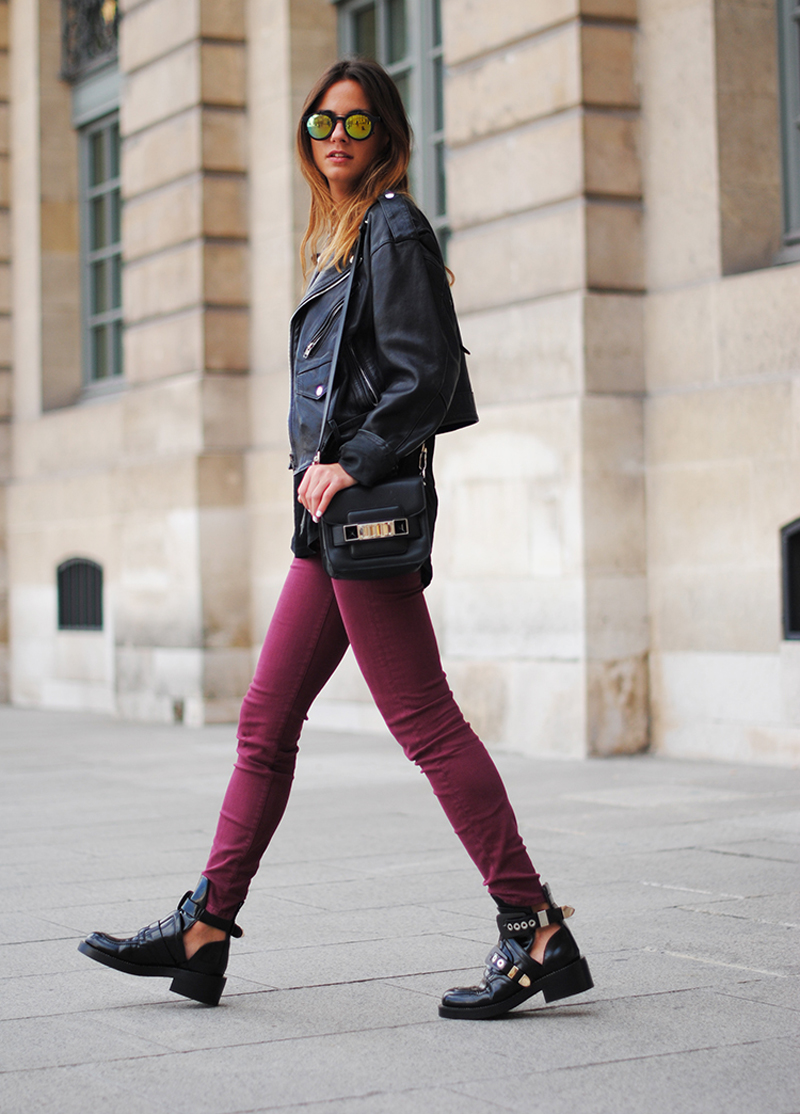 burgundy trend, burgundy outfits, burgundy fashion, burgundy inspiration (7)