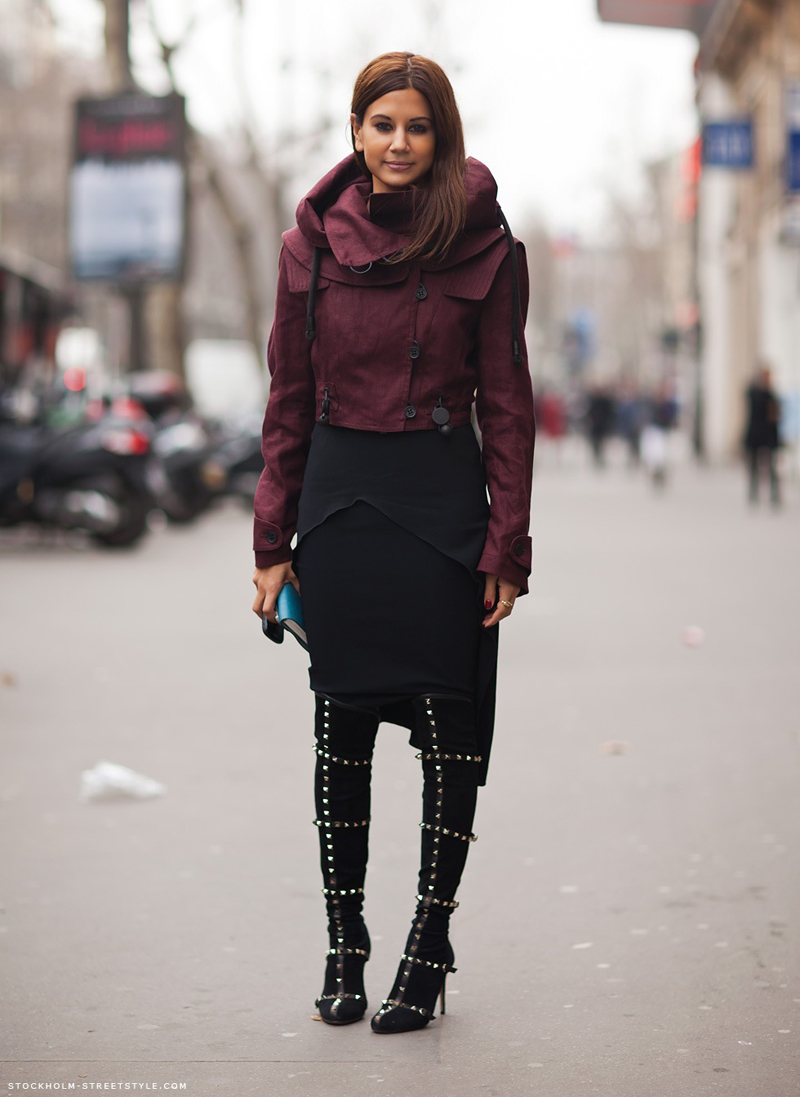 burgundy trend, burgundy outfits, burgundy fashion, burgundy inspiration (3)