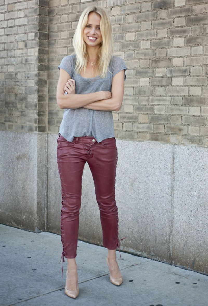 burgundy trend, burgundy outfits, burgundy fashion, burgundy inspiration (18)