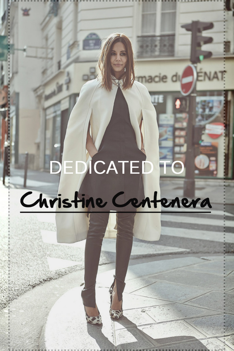 dedicated to || CHRISTINE CENTENERA