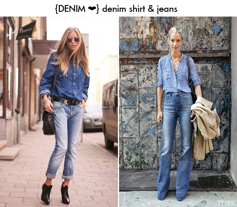 denim || DOUBLE UP ON DENIM