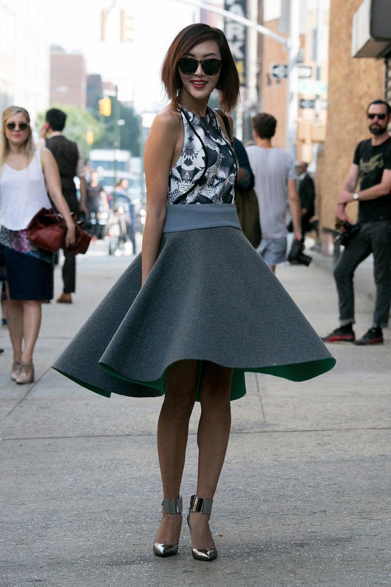 nyfw ss14, nyfw street style, nyfw streetstyle, ny street style, ny fashion week street style, chriselle lim fashion week