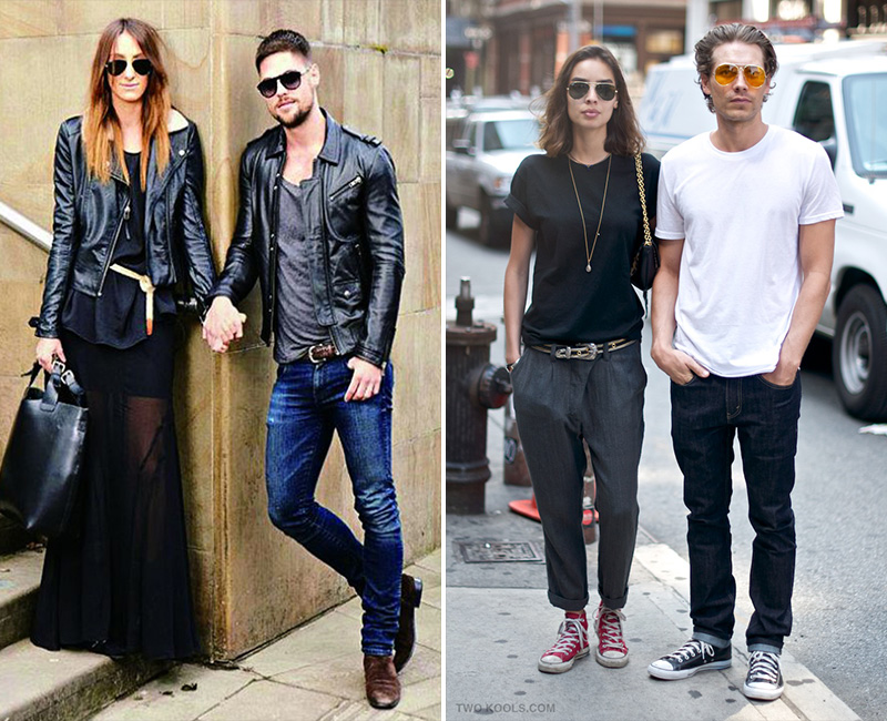 chic couples, stylish couples, couples fashion