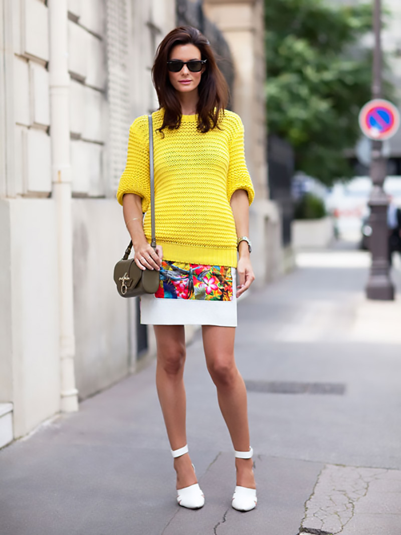 yellow outfit ideas, yellow street style, yellow street style (10)