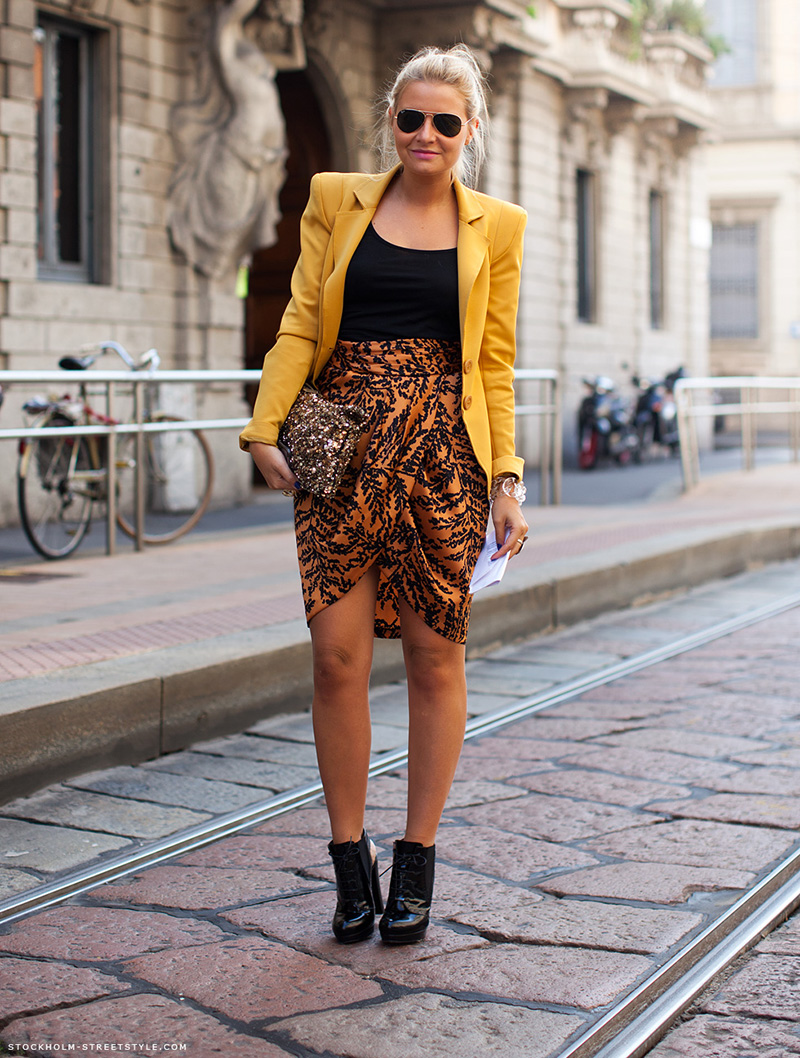 yellow outfit ideas, yellow street style, yellow street style (16)