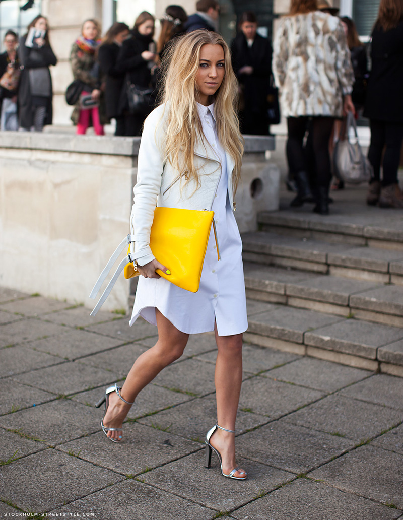 yellow outfit ideas, yellow street style, yellow street style (15)