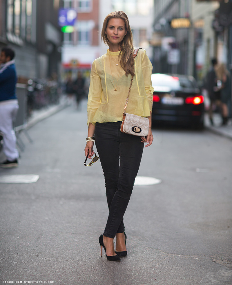 yellow outfit ideas, yellow street style, yellow street style (14)