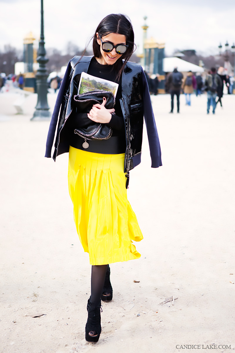 yellow outfit ideas, yellow street style, yellow street style (13)