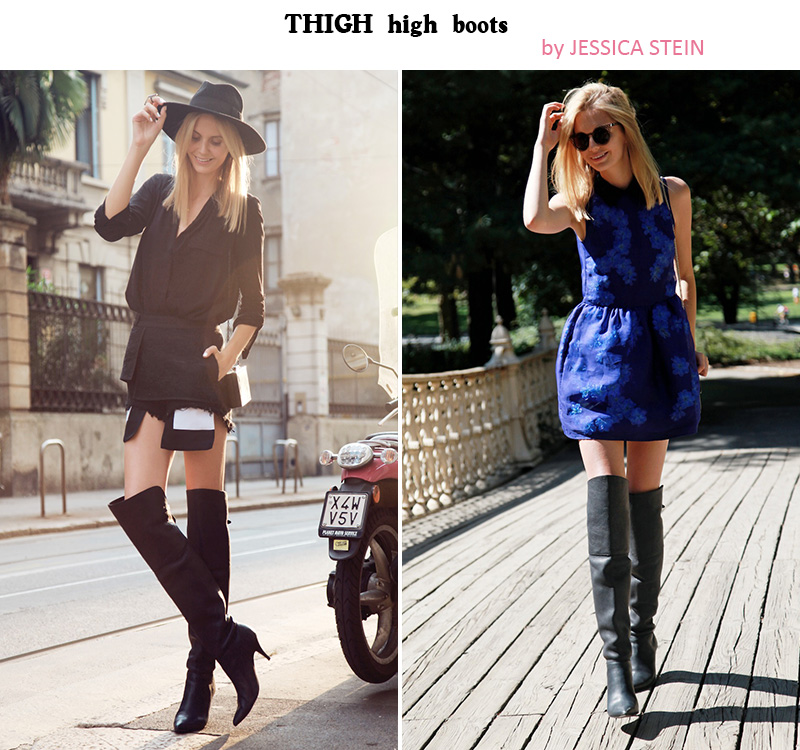 thigh high boots, thigh high boots trend