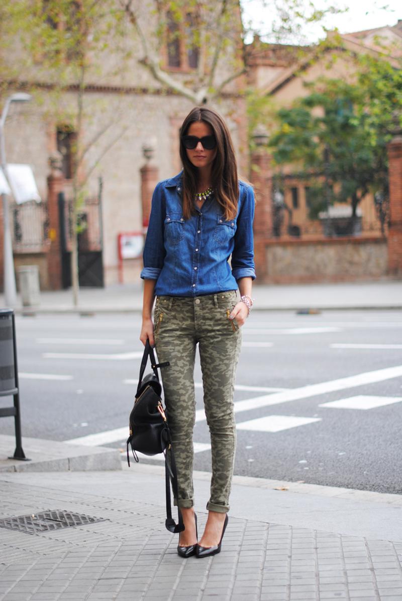 camo trend, camo inspiration, camo street style (23)