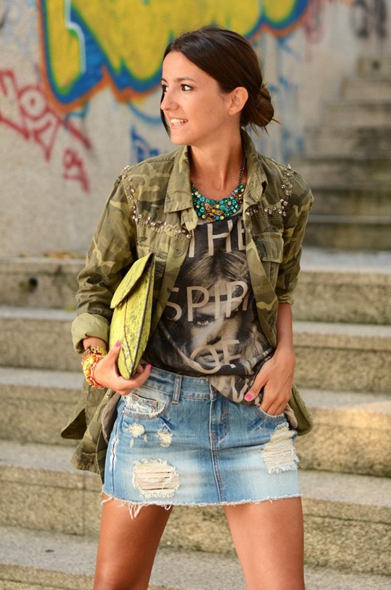camo trend, camo inspiration, camo street style (1)