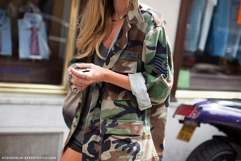 camo trend, camo inspiration, camo street style (12)