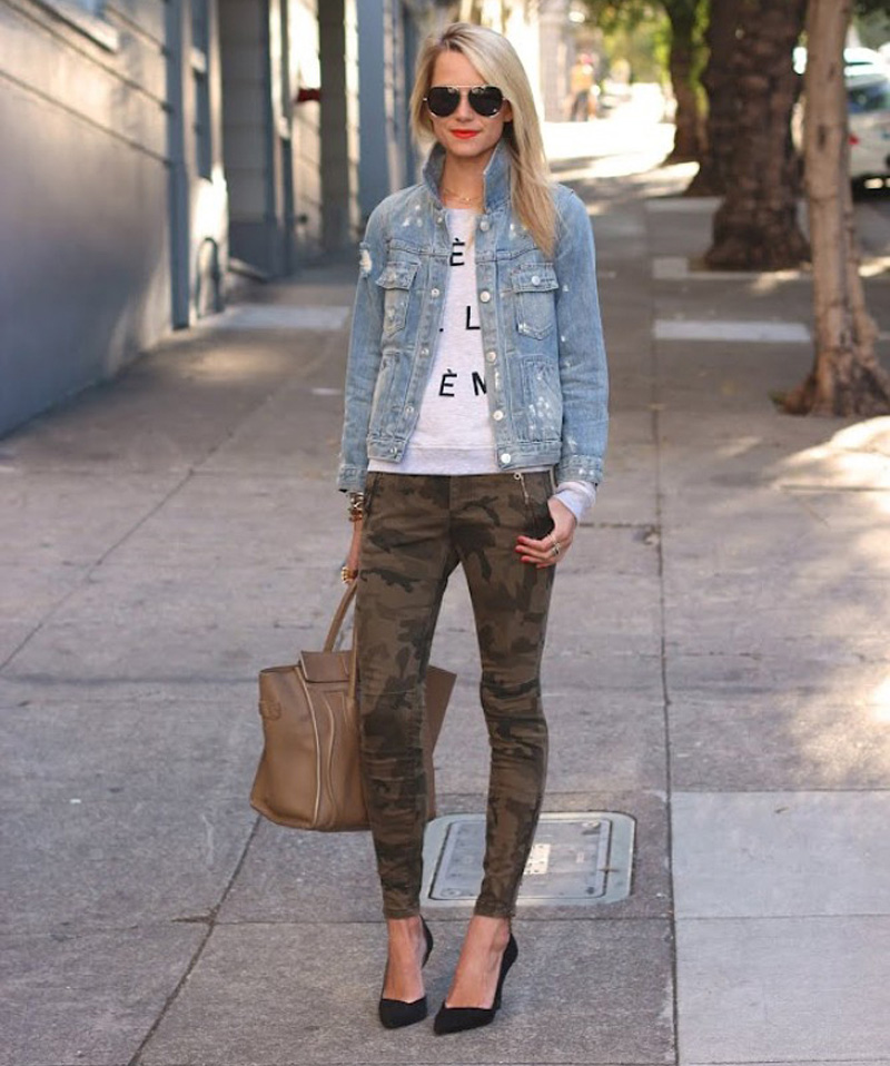 how to wear || CAMO TREND