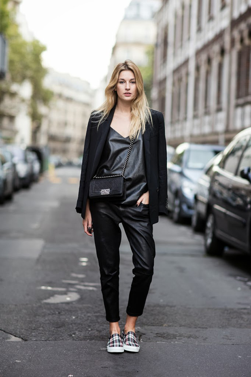 Paris Fashionweek ss2014 day 5, outside Chloé