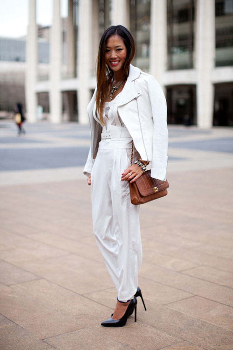 color of the week || WHITE IS PERFECT FOR WINTER