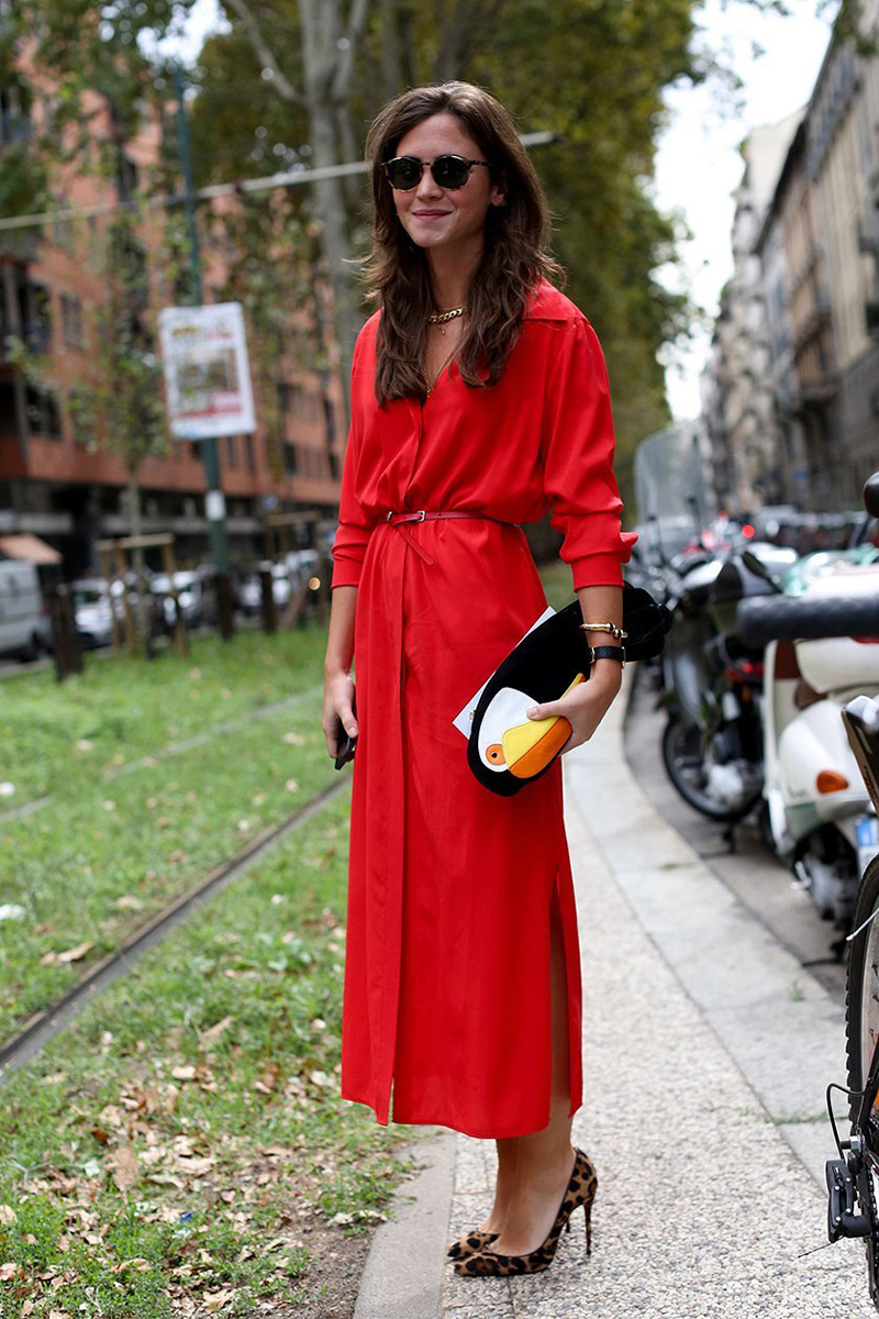 tres chic streetstyle || MILAN FASHION WEEK SS14 #9