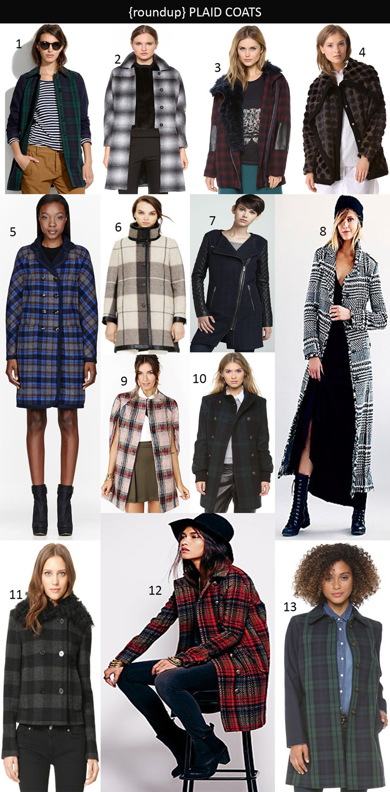 plaid coat, plaid coats trend