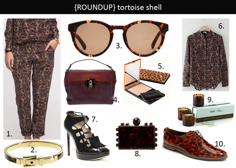 tortoise shell, tortoise shell fashion