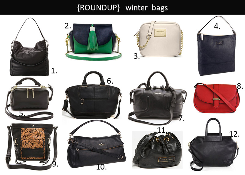 winter bags, winter bags ideas