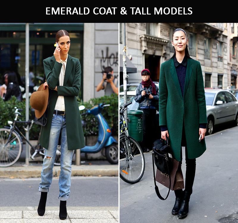 green coat, green coat inspiration