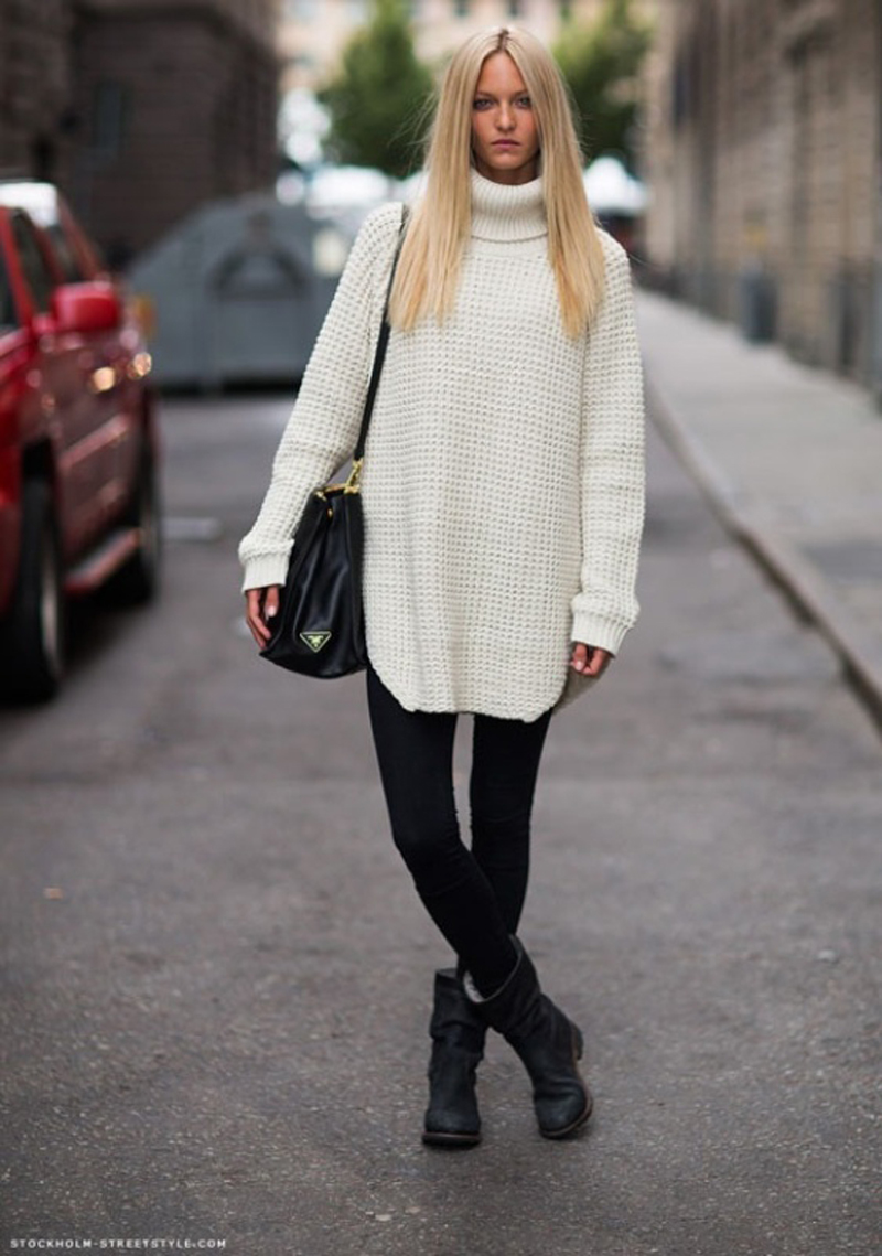 turtleneck trend, turtlenecks street style, turtleneck fashion (21)
