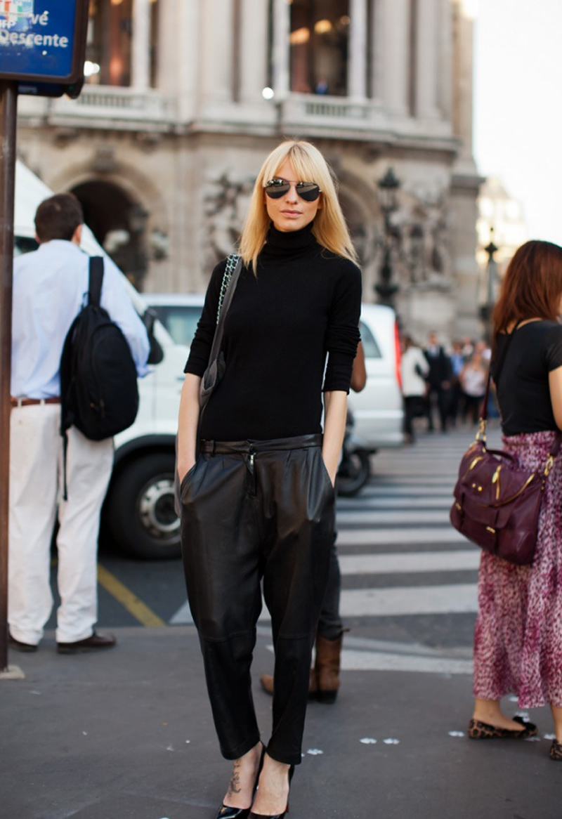 turtleneck trend, turtlenecks street style, turtleneck fashion (20)