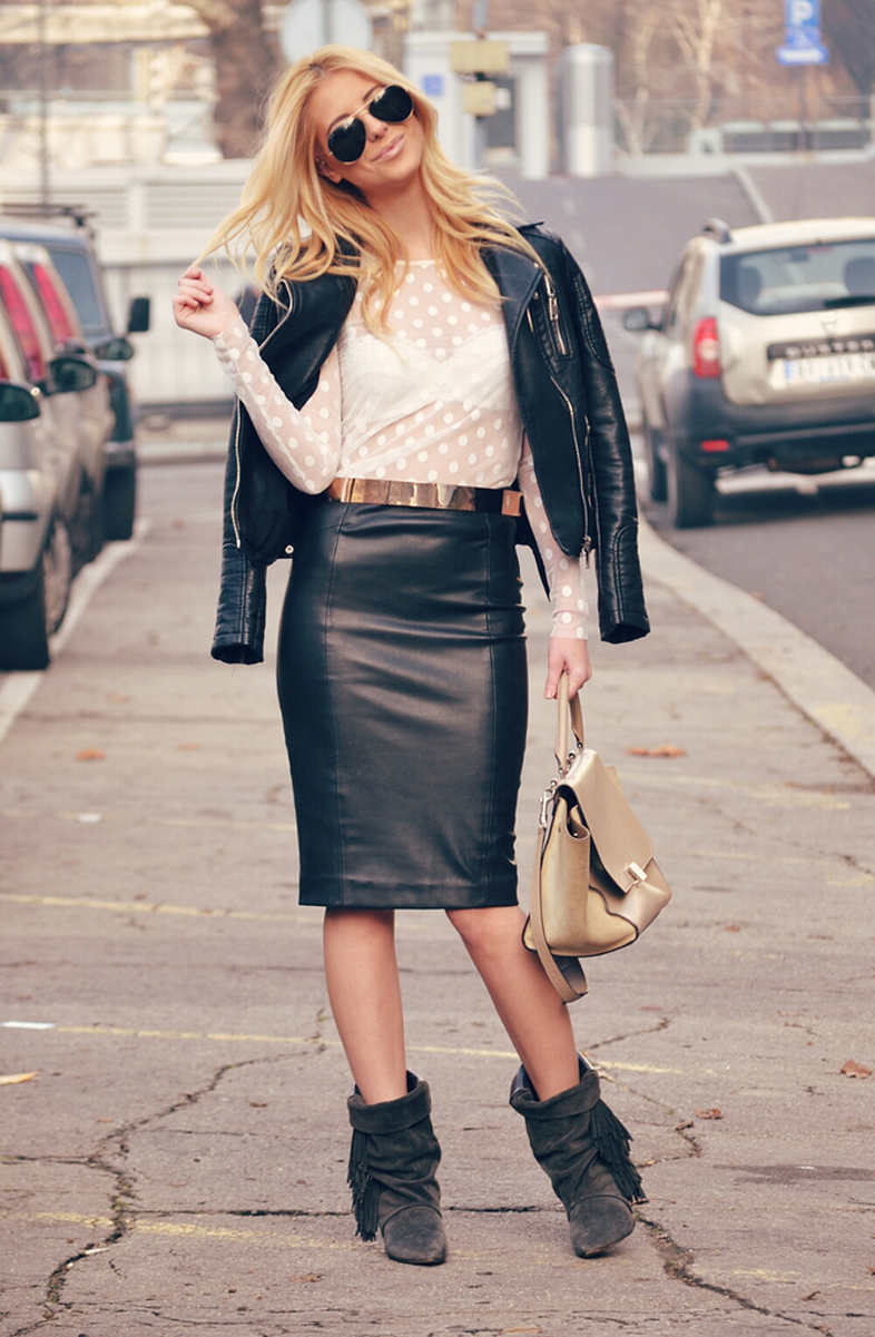tres chic streetstyle || FASHION BLOGGERS
