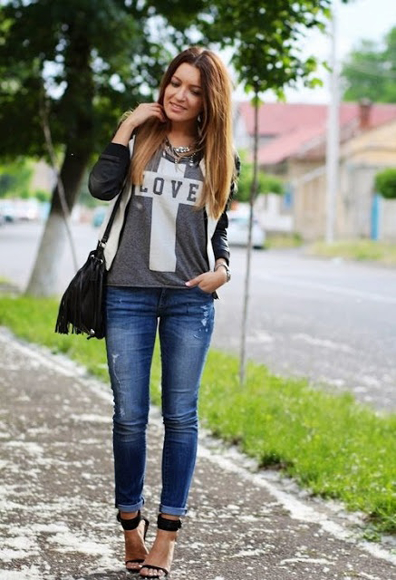 gray street style, gray fashion, gray inspiration (12)